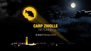 Komend weekend Carp Zwolle 2018