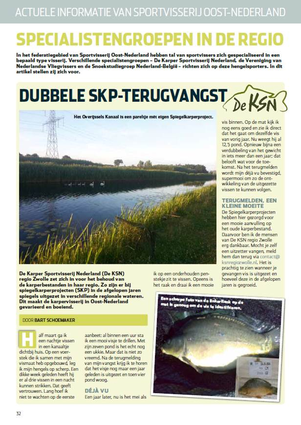 Regio-editie Oost NL van Hét VISblad - voorjaar 2014