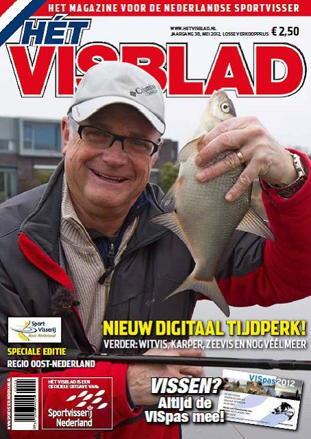 Regio-editie Oost NL van Hét VISblad - voorjaar 2012