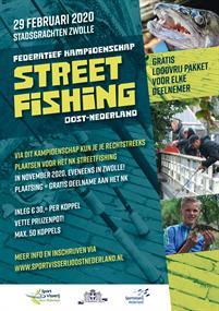 Wedstrijdartikel: Team deelname Fed. Kamp. Streetfishing Oost-Nederland 2020